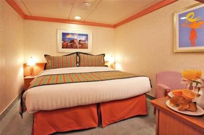 Kajuta  a manželská postel